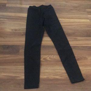 American Apparel Black Winter Weight Leggings